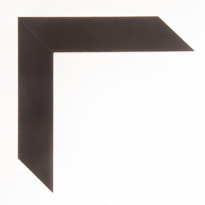 Houten lijst -  KOMODO - Zwart breed 39 mm