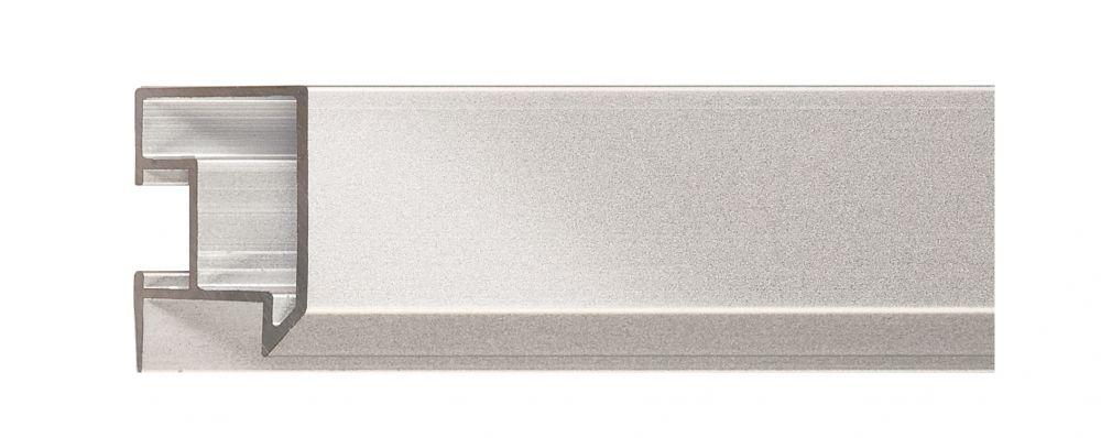 Aluminium lijst - NIELSEN - Profiel 262 -004  Frosted Silver