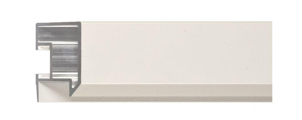 Aluminium lijst - NIELSEN - Profiel 262 -027  White Mat