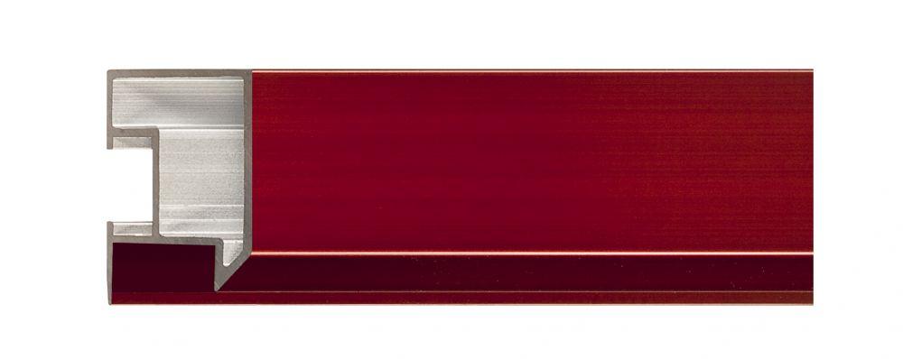Aluminium lijst - NIELSEN - Profiel 262 -228 Garnet red