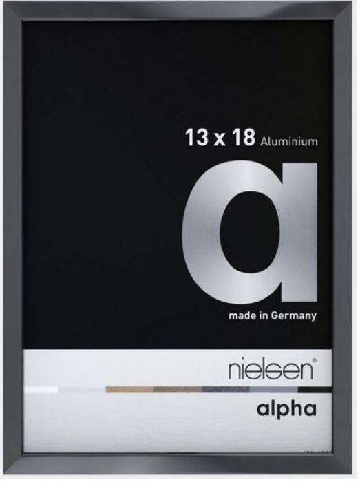 Aluminium wissellijst Alpha True Color Antr. Hgl.