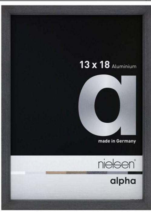 Aluminium wissellijst Alpha True Color White Wash Fineer