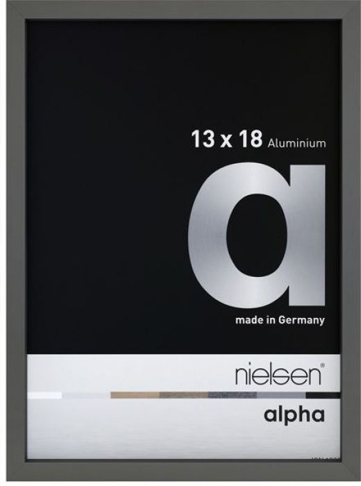 Aluminium wissellijst Nielsen  Alpha  Platina