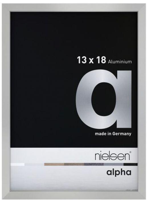 Aluminium wissellijst Nielsen  Alpha True Color Mat Zilver