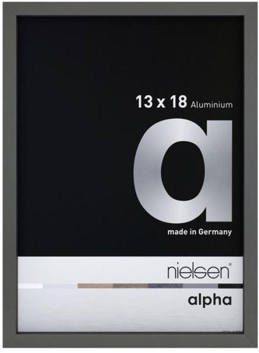 Aluminium wissellijst Nielsen Alpha True Color Platina
