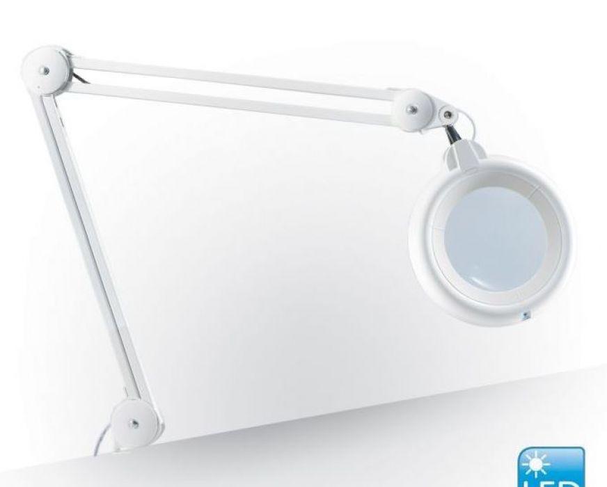Daylight Slimline LED Loeplamp Wit