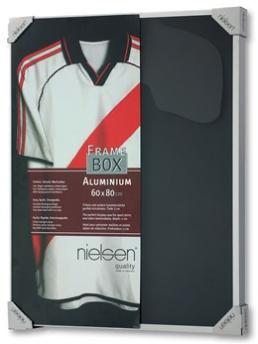 Nielsen Framebox II Mat zilver Acryl 60x80