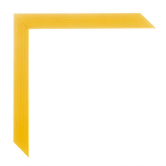 Houten lijst - HARLEQUIN - Geel breed 20 mm