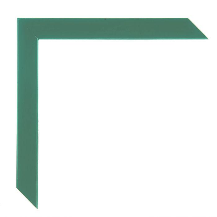 Houten lijst - HARLEQUIN - Groen breed 20 mm