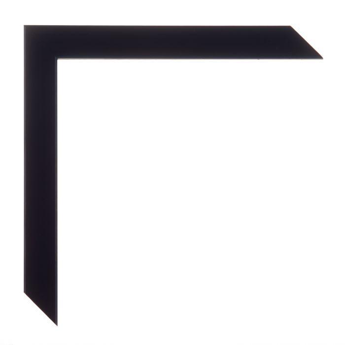 Houten lijst -HARLEQUIN - Zwart  breed 20 mm