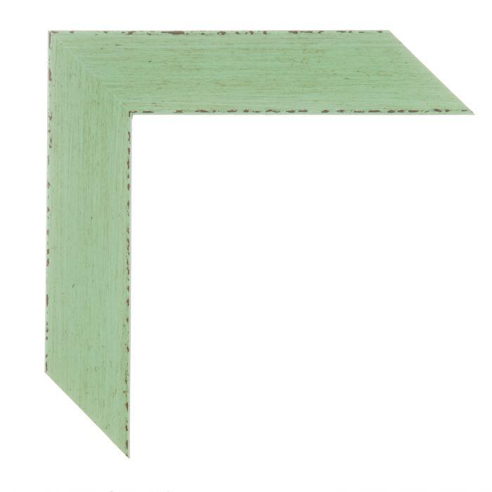 Houten lijst -  KOMODO2 - Groen, Jade breed 39 mm
