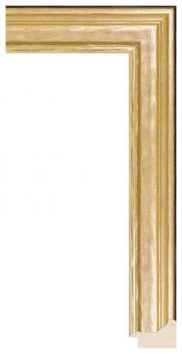 Houten lijst - LILLE - Goud breed 41 mm