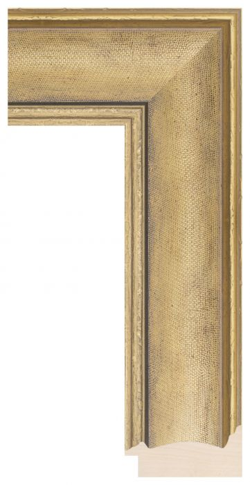 Houten lijst - LILLE - Goud breed 73 mm