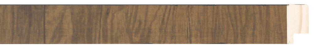 Houten lijst -NAVARRA - Repro Fineer Middel Eiken, Bruin breed 28 mm