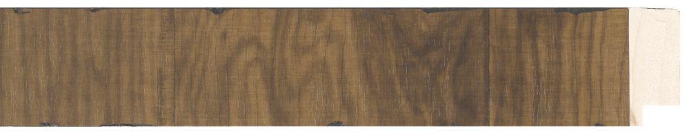 Houten lijst -NAVARRA - Repro Fineer Middel Eiken, Bruin breed 40 mm