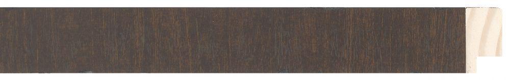 Houten lijst - NAVARRA - Repro Fineer Wenge, Bruin breed 28 mm