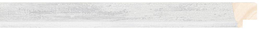 Houten lijst  PEDRAZA - Grijs gewassen breed 22 mm