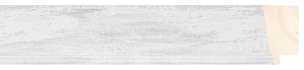 Houten lijst - PEDRAZA - Grijs gewassen breed 43 mm