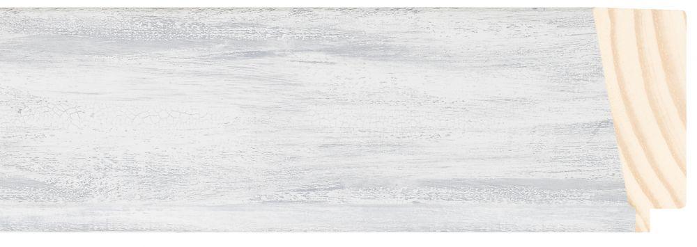 Houten lijst - PEDRAZA - Grijs gewassen breed 70 mm