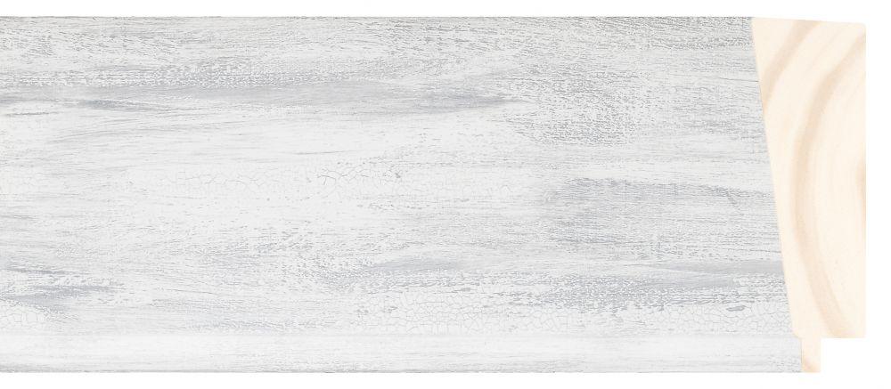 Houten lijst - PEDRAZA - Grijs gewassen breed 90 mm