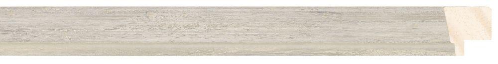 Houten lijst - PEDRAZA - Zilver gewassen breed 22 mm