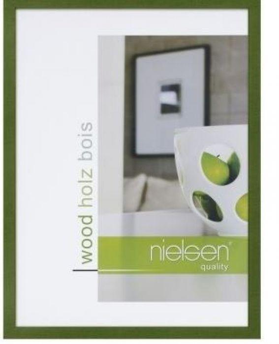 Houten wissellijst Quadrum - Groen