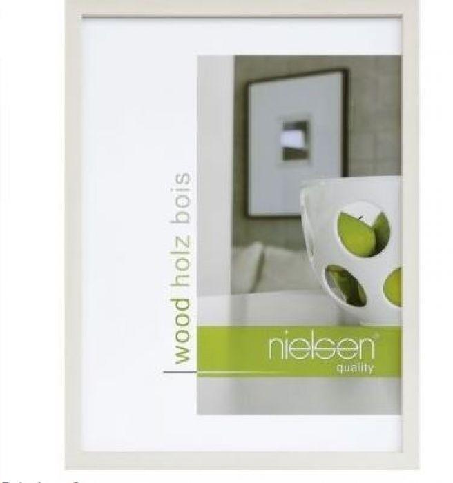 Houten wissellijst Quadrum - White Wash