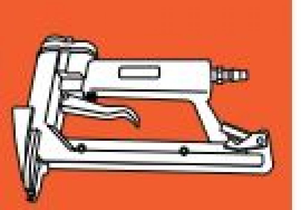 Pneumatische Lipjesmachine 15 mm