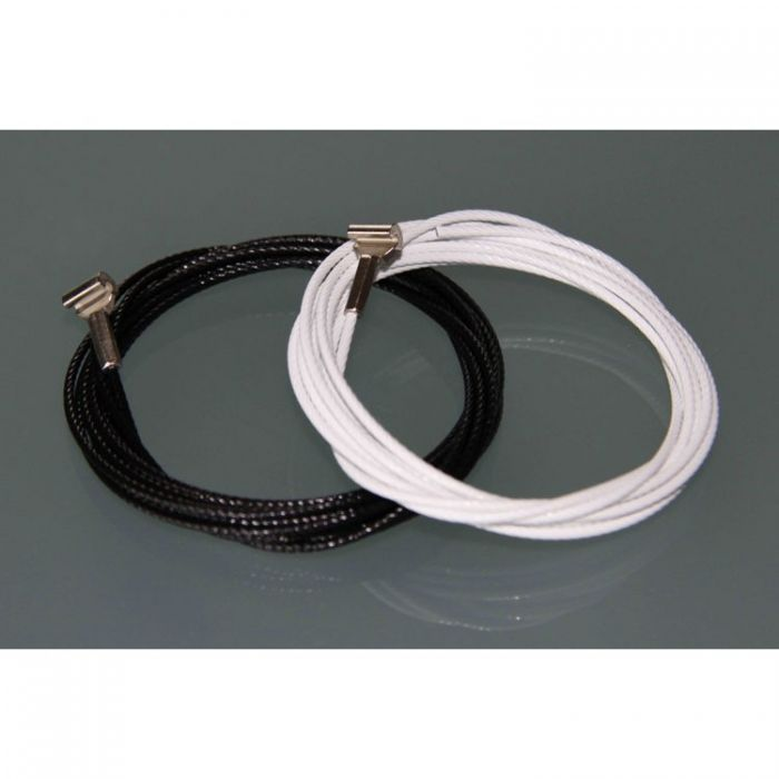 STAS cobra + staalkabel zwart 200 cm