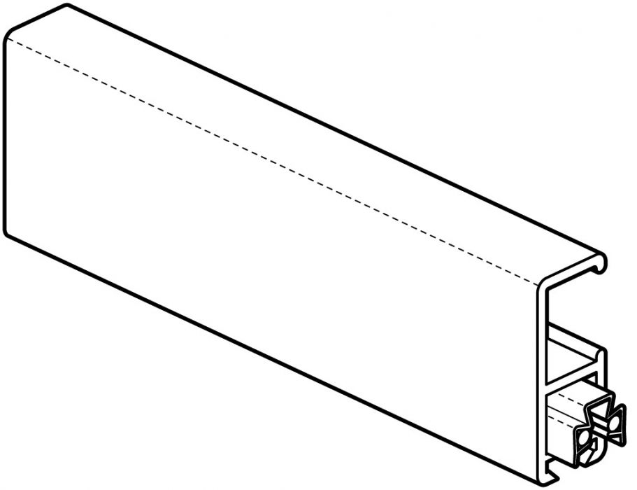 STAS multirail alu 200 cm of 300 cm