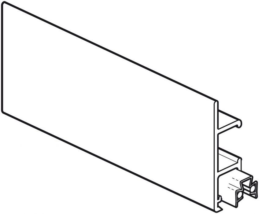 STAS multirail max wit 200 cm of 300 cm