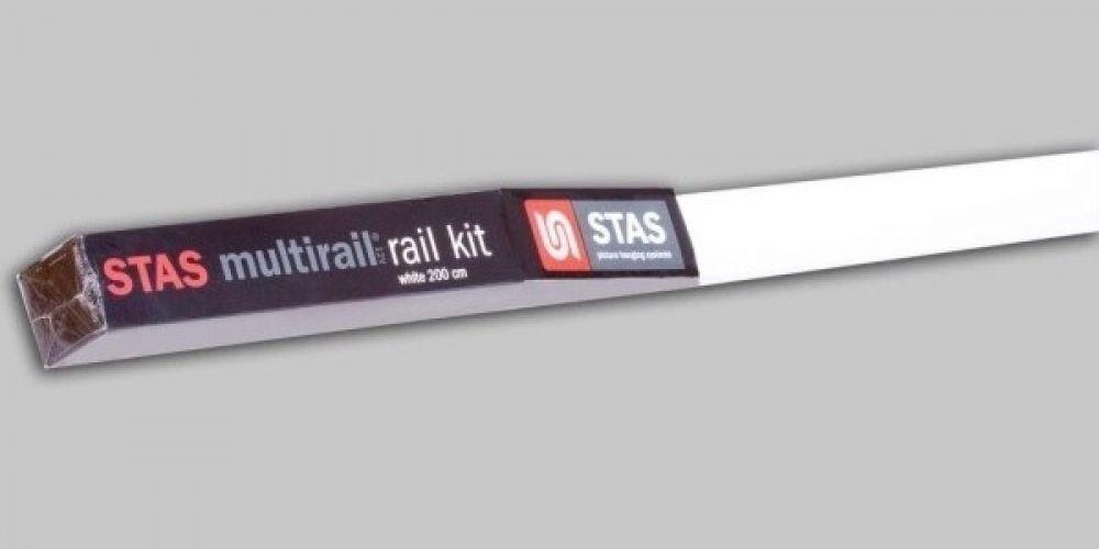 STAS multirail railkit wit 200 cm