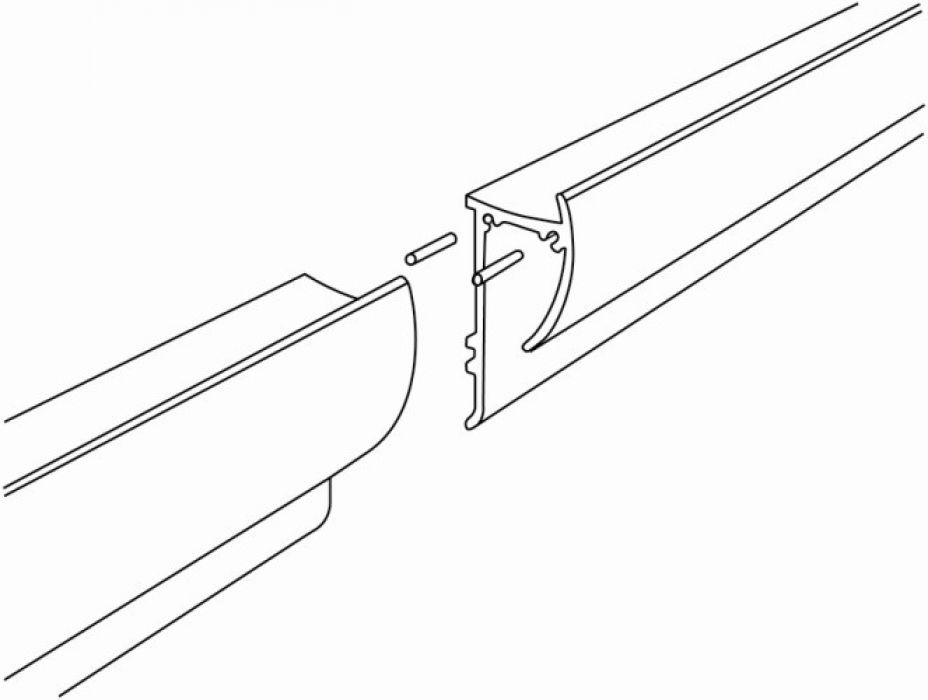 STAS paperrail connector set