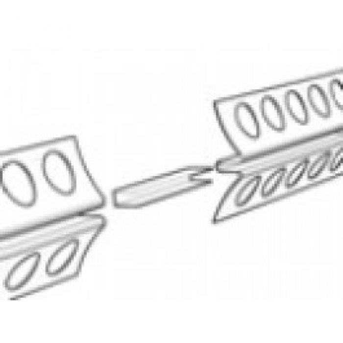 STAS stucrail verbinding