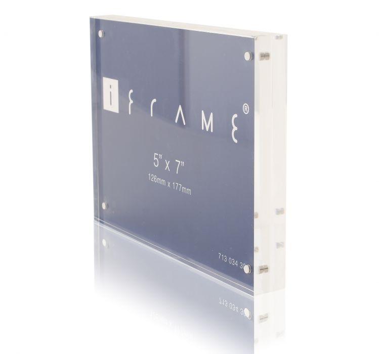 Transparant fotolijst 12.6x 17.7 cm