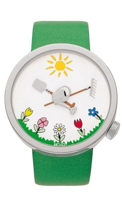 AKTEO Horloge tuinieren