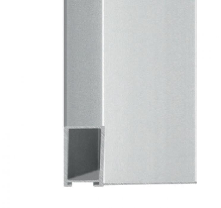 Aluminium baklijst kleur zilver NIELSEN -profiel 227 -004