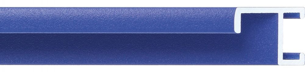Aluminium lijst - CLARK - Profiel 411 - Blauw poedercoating