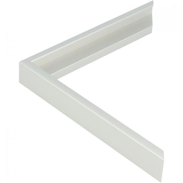 Aluminium lijst - CLARK - Profiel 411 - ECO zilver mat