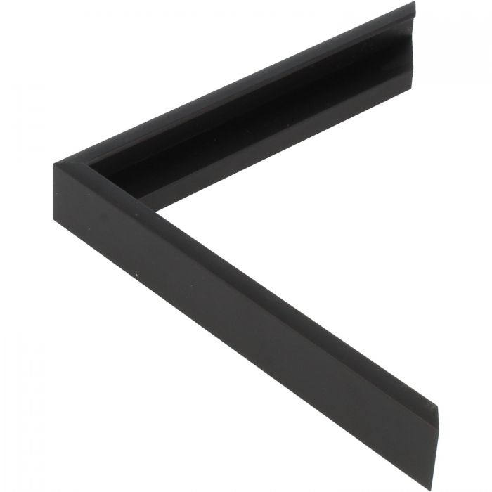 Aluminium lijst -CLARK - Profiel 411 -ECO zwart mat
