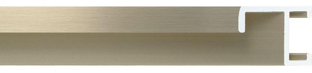 Aluminium lijst -CLARK - Profiel 411 - Geborsteld brons