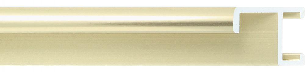 Aluminium lijst -CLARK - Profiel 411 - Glanzend geborsteld champagne