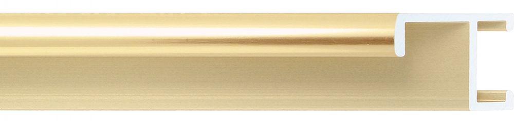 Aluminium lijst -CLARK - Profiel 411 - Glanzend geborsteld goud