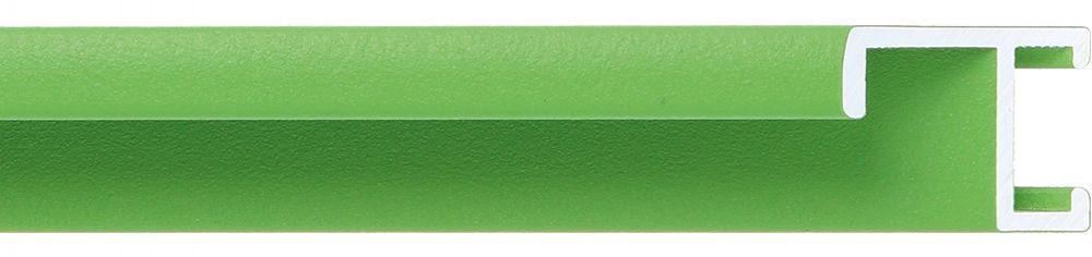 Aluminium lijst - CLARK - Profiel 411 - Groen poedercoating