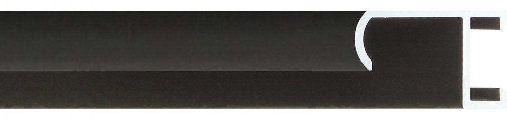 Aluminium lijst - CLARK - Profiel 415 - ECO zwart mat