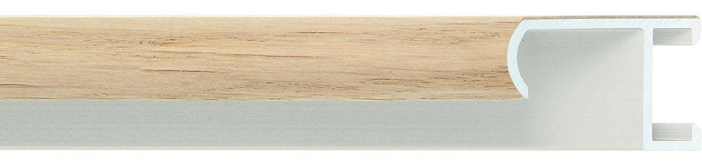 Aluminium lijst -CLARK - Profiel 415 - Eiken fineer