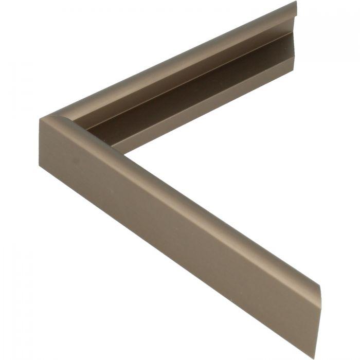 Aluminium lijst -CLARK - Profiel 415 - Geborsteld brons