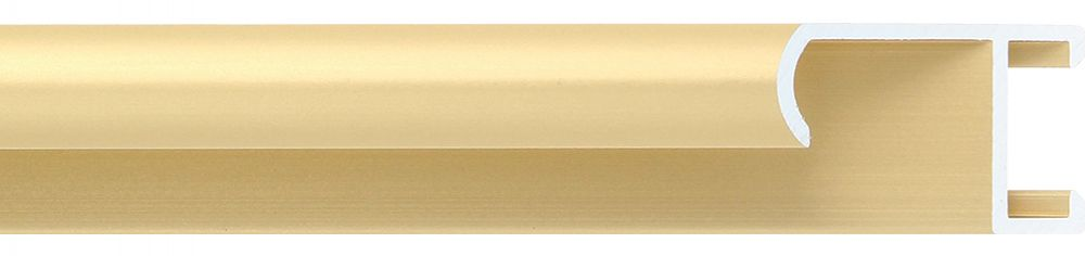 Aluminium lijst - CLARK - Profiel 415 - Geborsteld goud mat