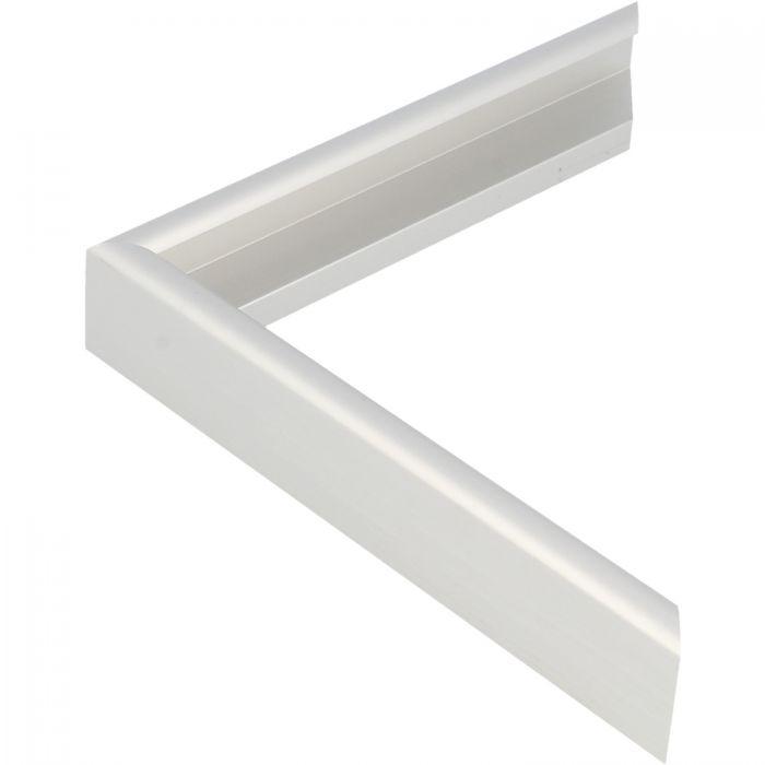 Aluminium lijst - CLARK - Profiel 415 - Geborsteld zilver mat
