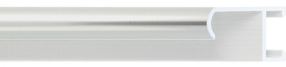 Aluminium lijst -CLARK - Profiel 415 - Glanzend geborsteld zilver